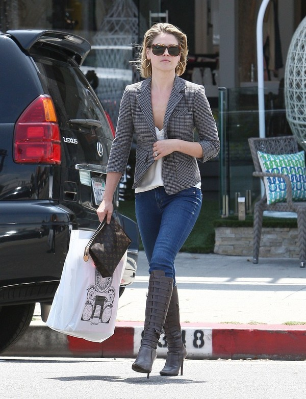 Ali Larter Out & About in West Hollywood - 3rd May, 2012