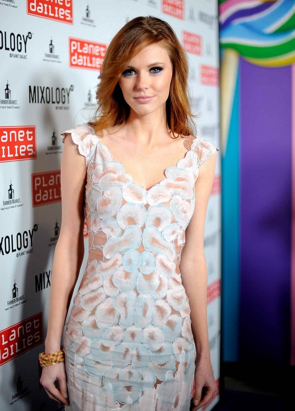 Alyssa Campanella - Grand Opening of Robert Earl's Planet Dailies & Mixology 101, LA - 5th April, 2012