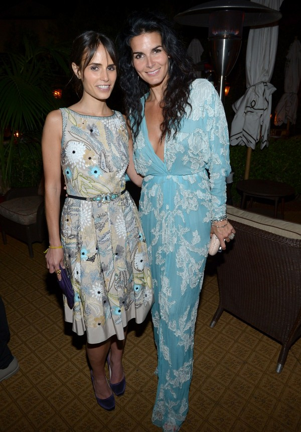 Angie Harmon - Naeem Khan Private Dinner, LA, 2nd May, 2012