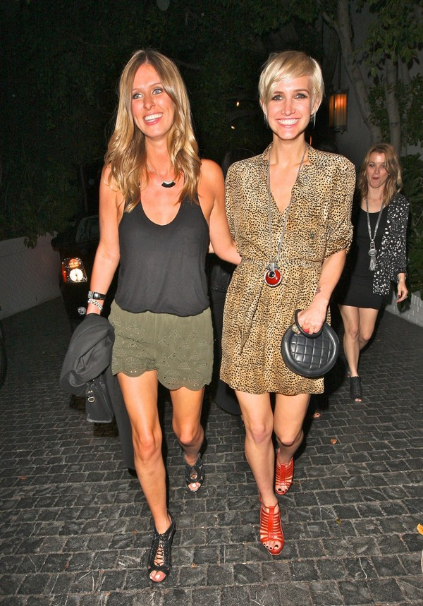 Ashlee Simpson & Nicky Hilton out in West Hollywood - July 26, 2011