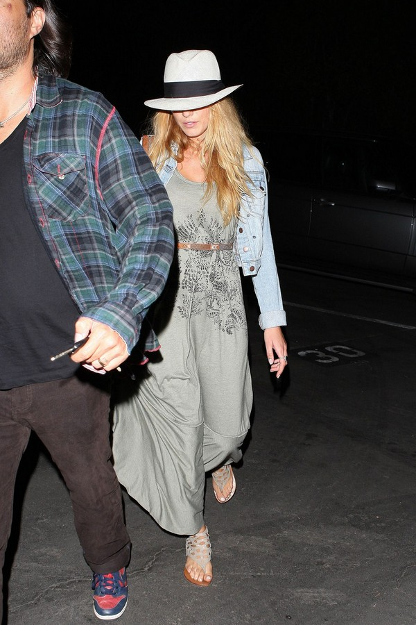 Blake Lively Leaving a Stevie Wonder Concert at the Hollywood Bowl - July 24, 2011