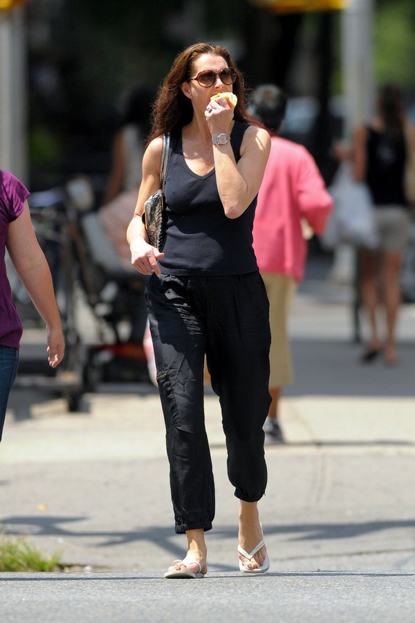 Brooke Shields out and about in the West Village - July 12, 2011