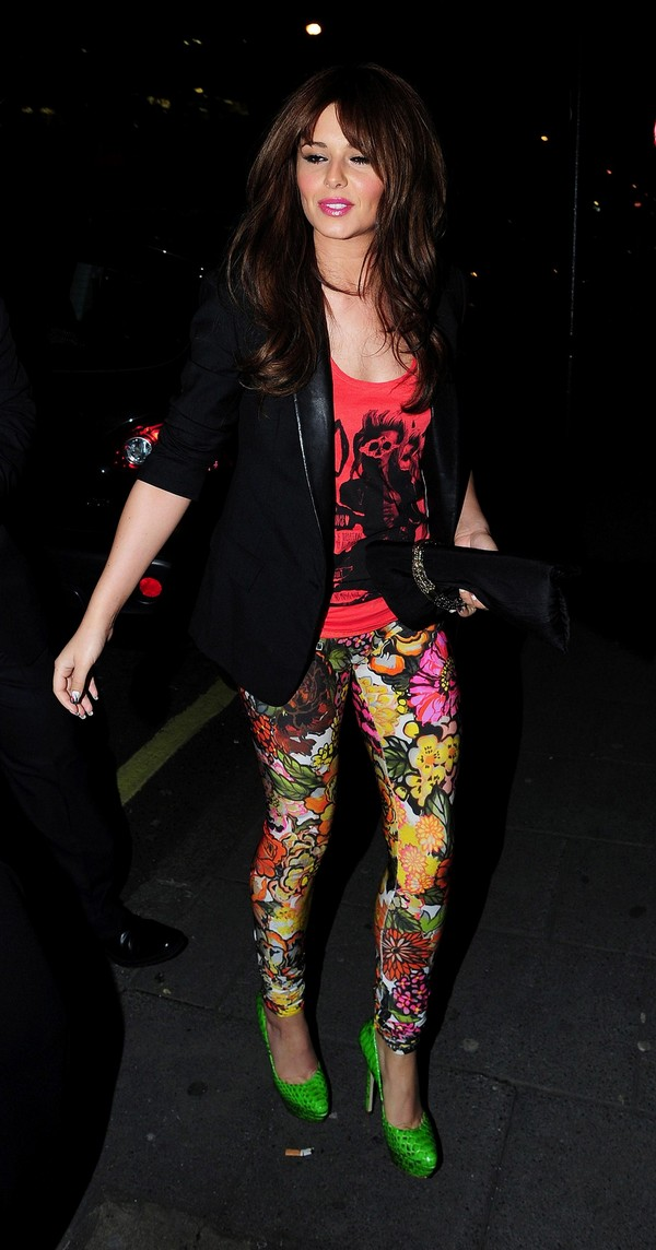 Cheryl Cole at the Vanilla Restaurant in London - 7th April, 2012