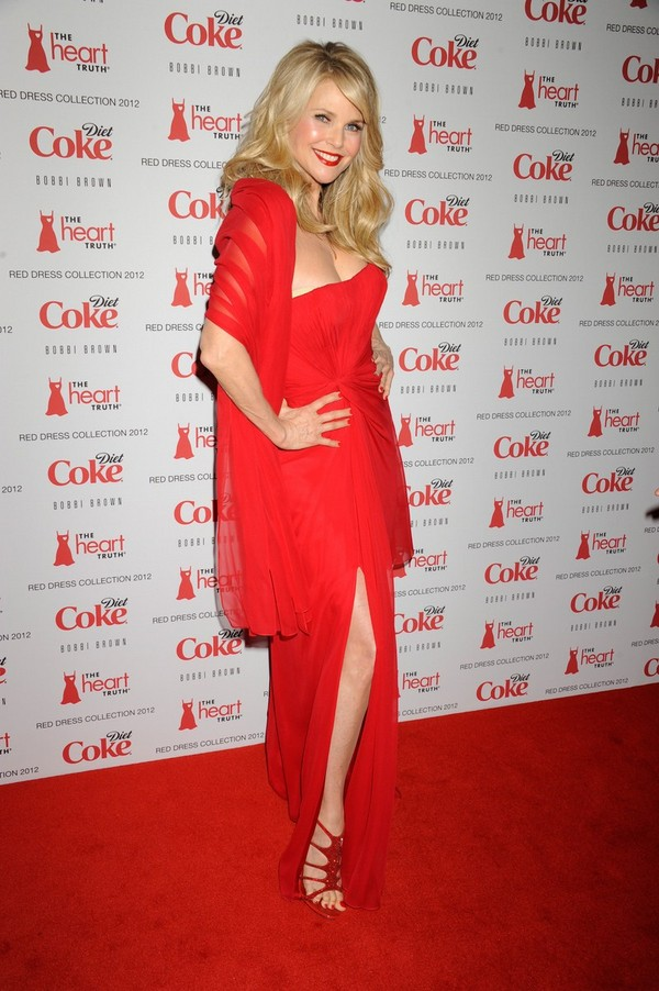 Christie Brinkley at Heart Truth Red Dress Fashion Show in New York - 8th February, 2012