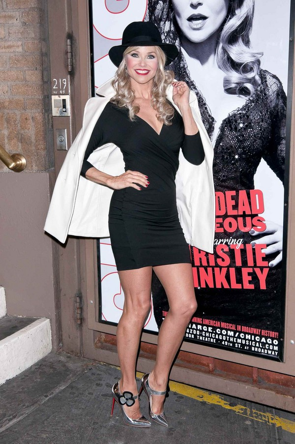 Christie Brinkley - The Ambador theatre NY - 6th April, 2012