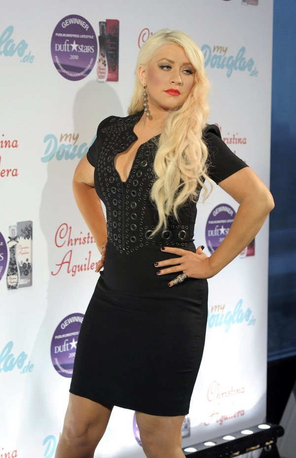 Christina Aguilera Promoting Royal Desire in Germany - July 13, 2011
