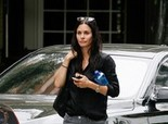Courteney Cox - Arivving at the Four Seasons Hotel for a meeting - 2nd May, 2012