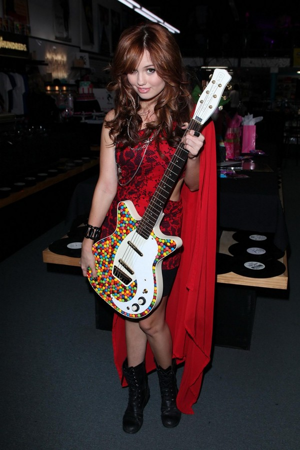 Debby Ryan at her 18th Birthday Party at Backside Records