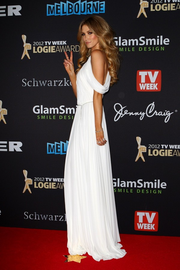 Delta Goodrem 54th Annual 2012 Logie Awards in Melbourne