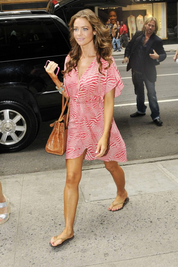 Denise Richards O&A in NYC - July 27, 2011