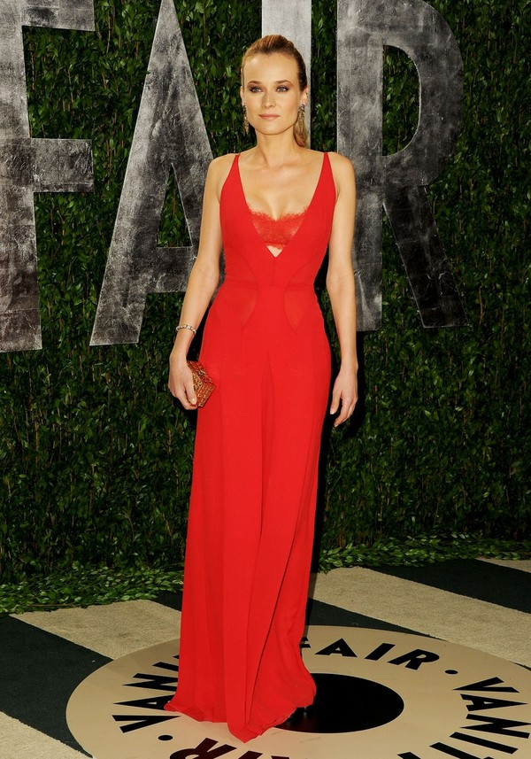 Diane Kruger - 2012 Vanity Fair Oscar Party in West Hollywood - 26th February, 2012