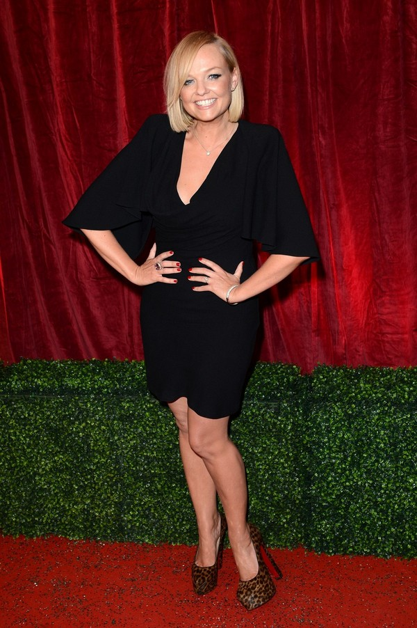Emma Bunton - British Soap Awards - London - 28th April, 2012