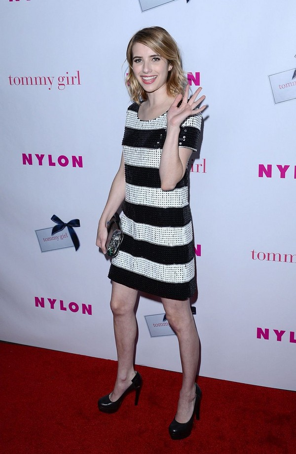 Emma Roberts - Nylon Magazine Young Hollywood Issue Party in Hollywood - 9th May, 2012