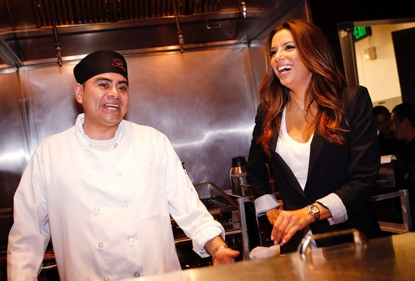 Eva Longoria at Beso restaurant, Las Vegas - July 27, 2011