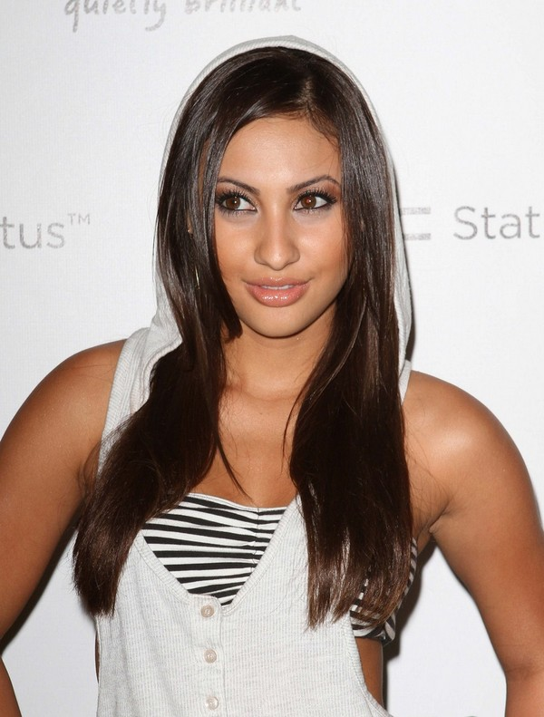 Francia Raisa at HTC Status Social Launch Event in Hollywood - July 19, 2011