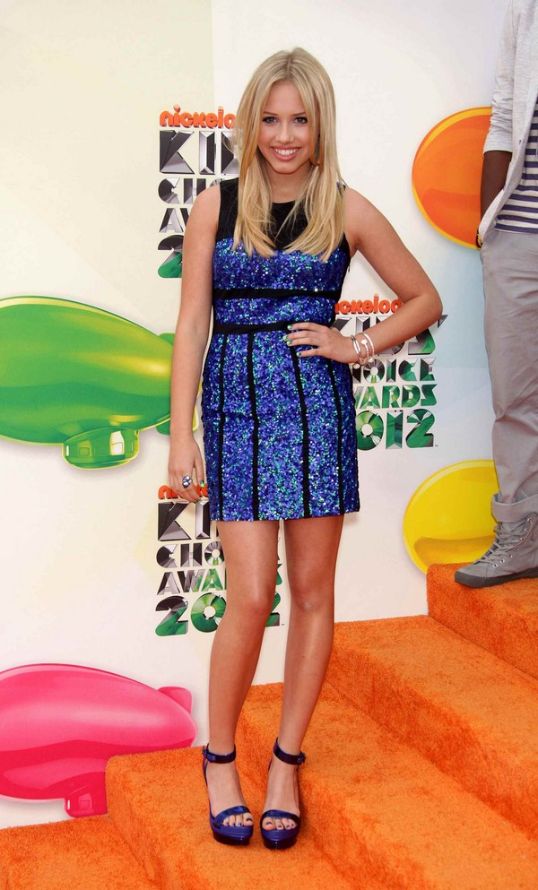 Gracie Dzienny - Nick Girl - 25th Nickelodeon Kids Choice Awards in Los Angeles - 31st March, 2012