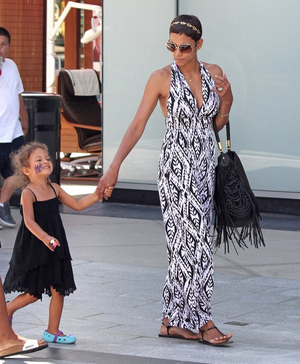 Halle Berry out in LA - July 26, 2011