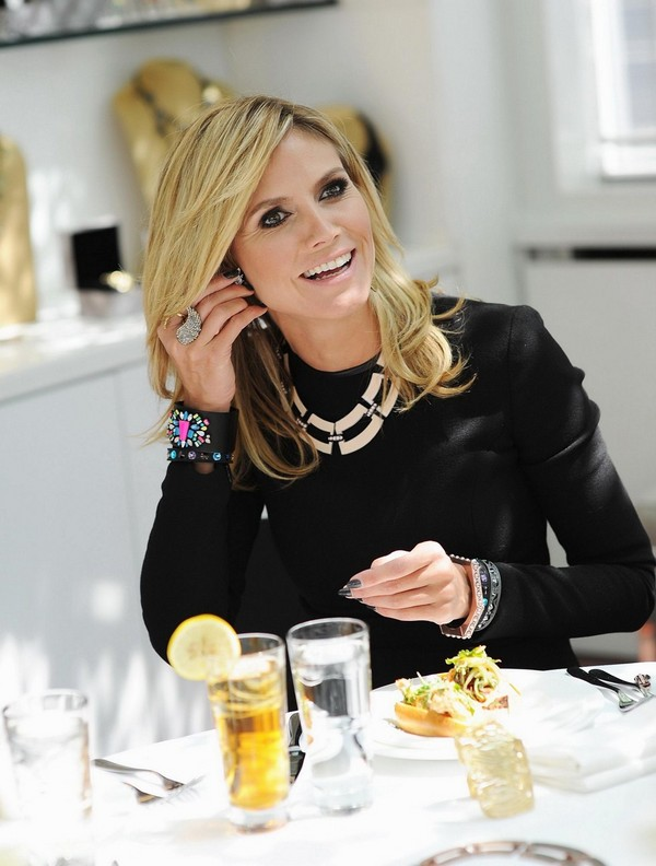 Heidi Klum - Wildlife Jewelry Collection Launch - NYC - 25th April, 2012