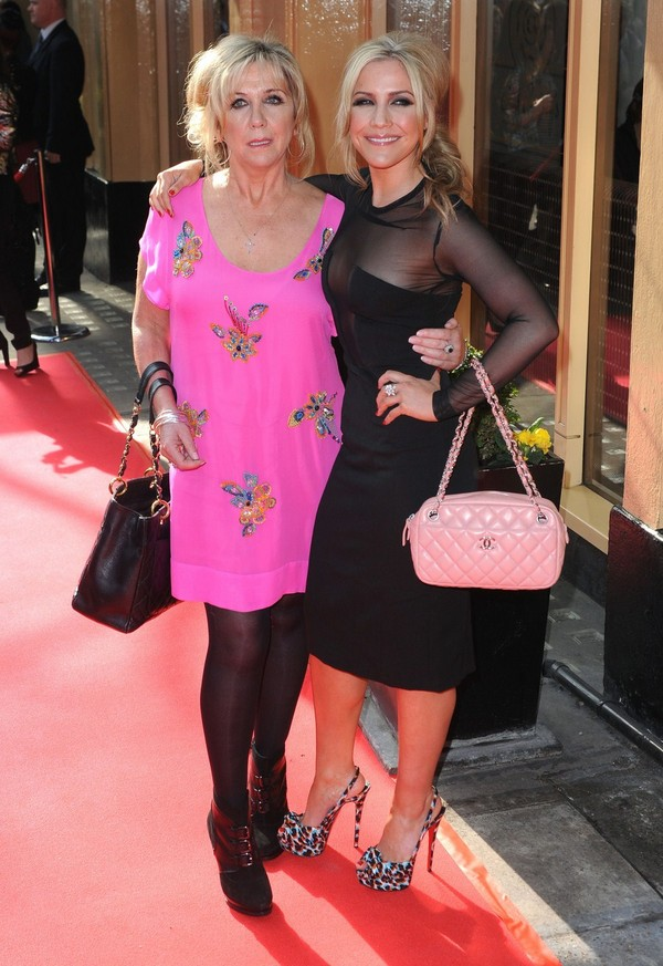 Heidi Range at Tesco Magazine Mum of the Year in London - 11th March, 2012