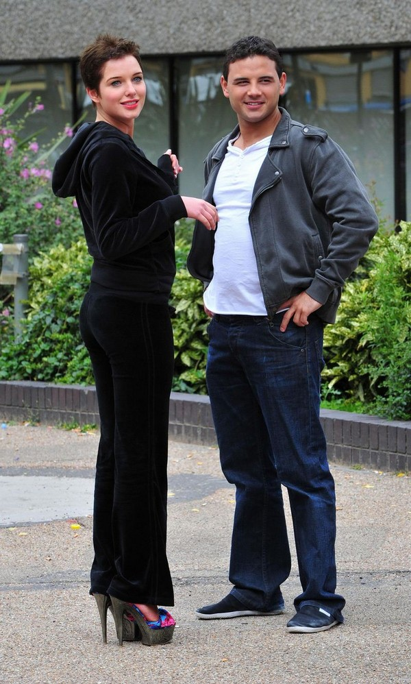 Helen Flanagan on the sets of 'Coronation Street' - London - July 13, 2011