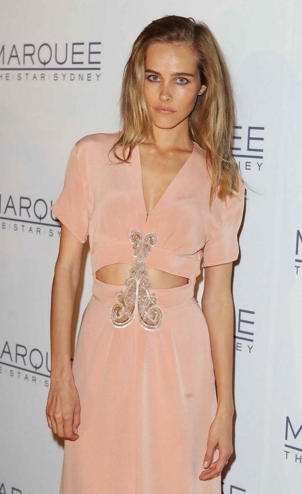 Isabel Lucas - Marquee opening at The Star, Sydney - 30th March, 2012