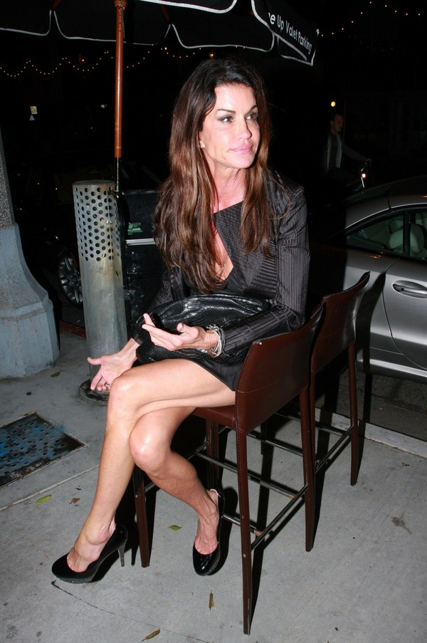 Janice Dickinson at 31Ten Lounge in Santa Monica - July 28, 2011