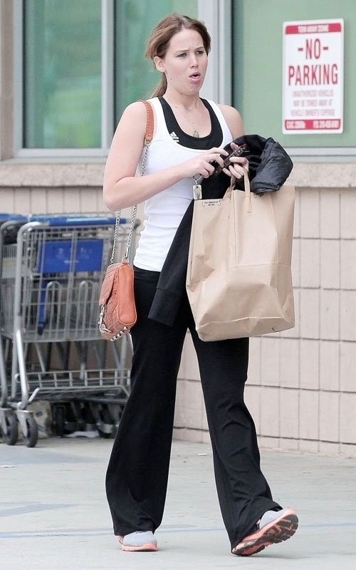 Jennifer Lawrence at the pharmacy in West Hollywood - 15th February, 2012