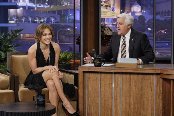 Jennifer Lopez stunning on The Late Show - 14th February, 2012