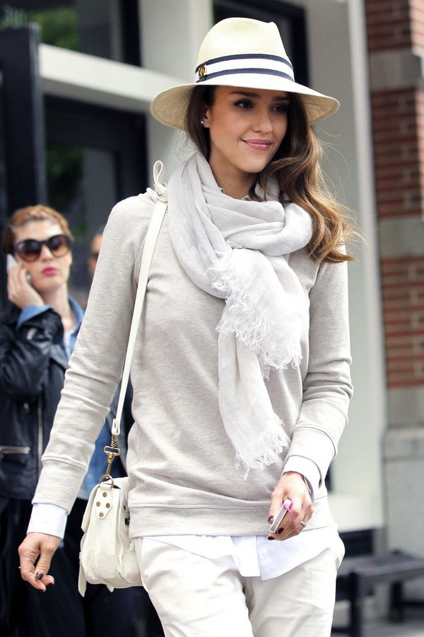 Jessica Alba at the SoHo Grand Hotel in New York - 9th May, 2012