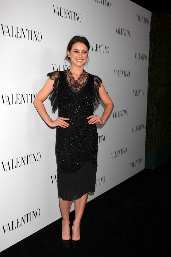 Jessica Stroup Valentino - 50th Anniversary And New Flagship Store Opening - 27th March, 2012