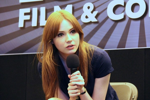 Karen Gillan at the London Film & Comic Con - July 09, 2011