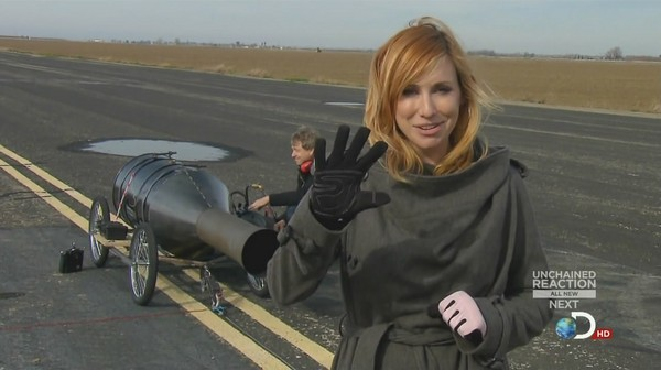 Kari Byron - Mythbusters Season 10, Episode 4 Stills - 17th April, 2012