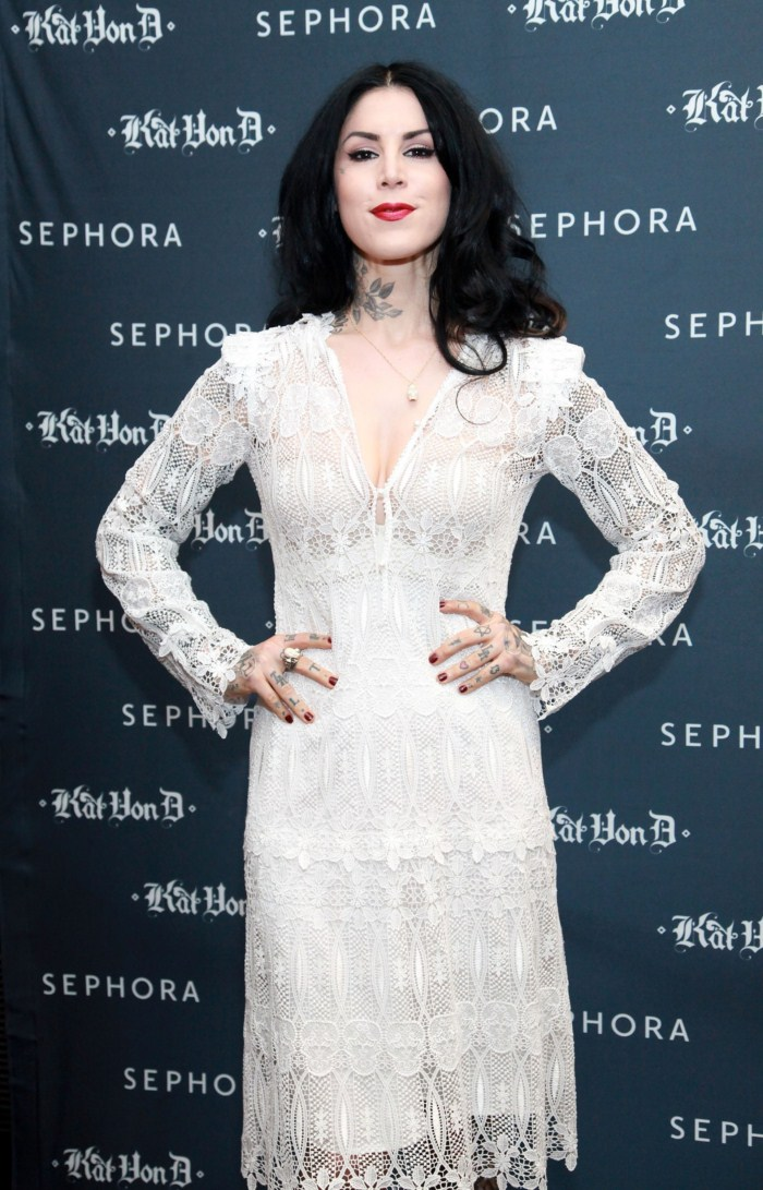 Kat Von D - First Solo Art Show New American Beauty - 3rd May, 2012