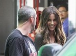 Kate Beckinsale after a day of Total Recall Shoots - Aug 03, 2011