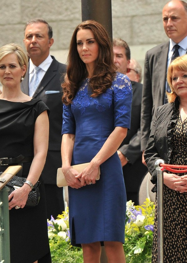 Kate Middleton at 'Freedom of the City' Ceremony in Quebec - July 03, 2011