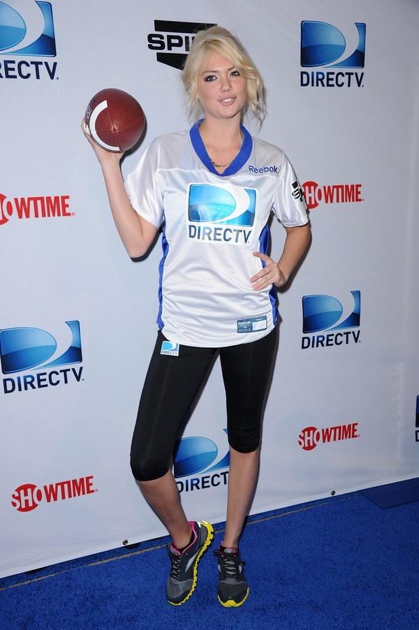Kate Upton at DIRECTV's Sixth Annual Celebrity Beach Bowl in Indianapolis