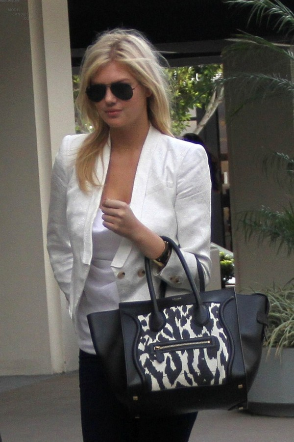 Kate Upton On her way to a meeting in LA - 28th February, 2012