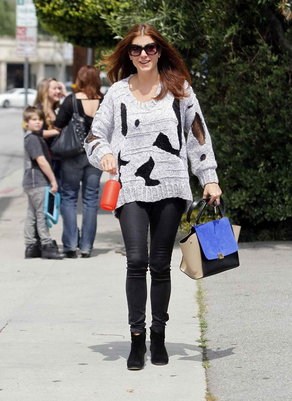 Kate Walsh - Leaving the Leconte Salon - West Hollywood - 29th March, 2012