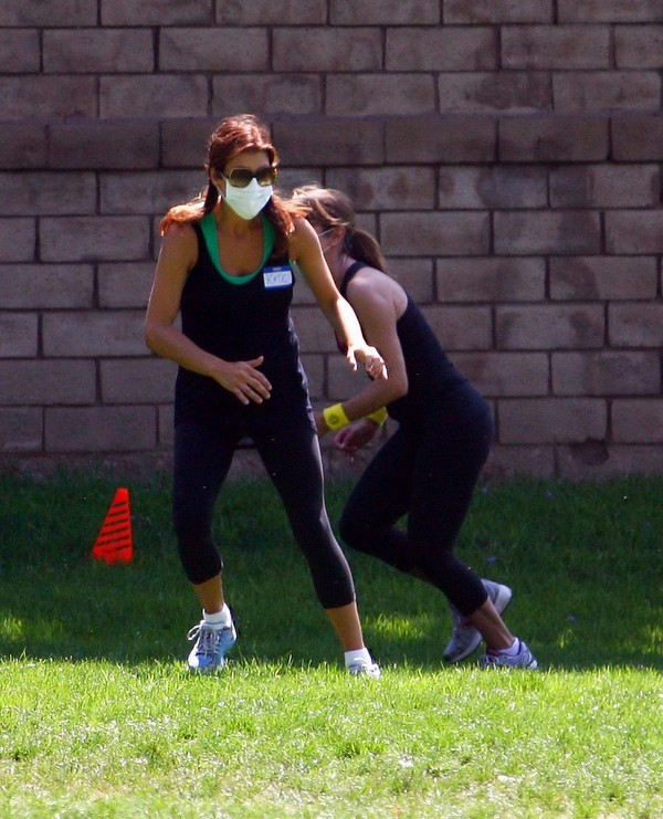 Kate Walsh working out in LA - July 23, 2011