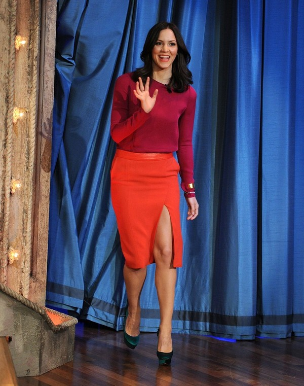 Katharine McPhee - Late Night with Jimmy Fallon - 10th February, 2012