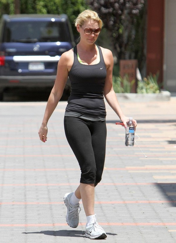 Katherine Heigl At a gym in West Hollywood - 10th May, 2012