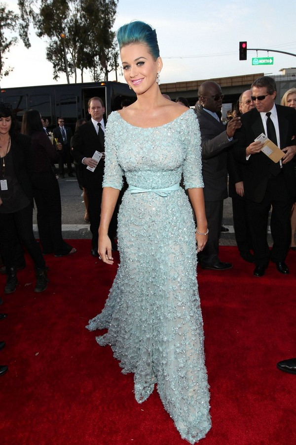 Katy Perry - 54th Annual Grammy Awards in Los Angeles - 12th February, 2012