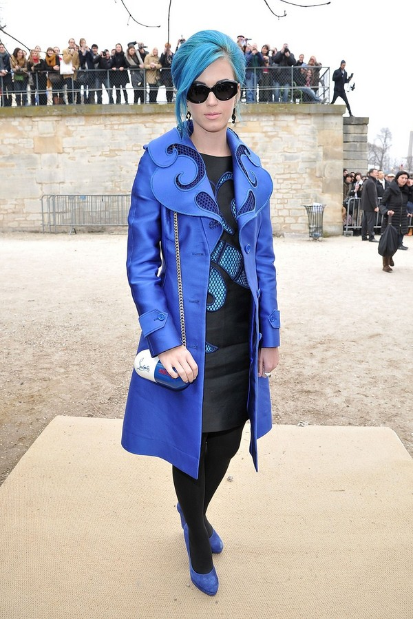 Katy Perry - Viktor and Rolf fashion show in Paris - 3rd March, 2012