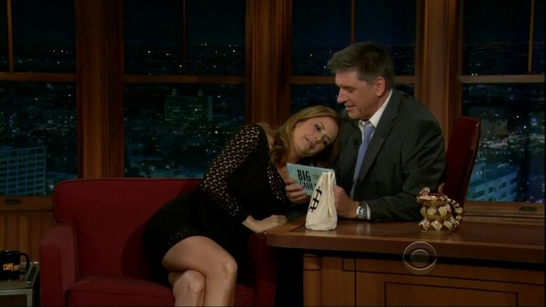 Kelly Preston at 'The Late Late Show with Craig Ferguson', April 19, 2012