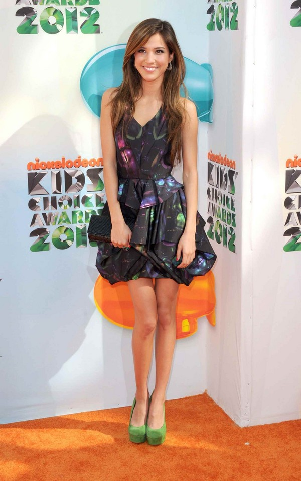 Kelsey Chow At Nickelodeon Kids Choice Awards In Los Angeles - 31st March, 2012