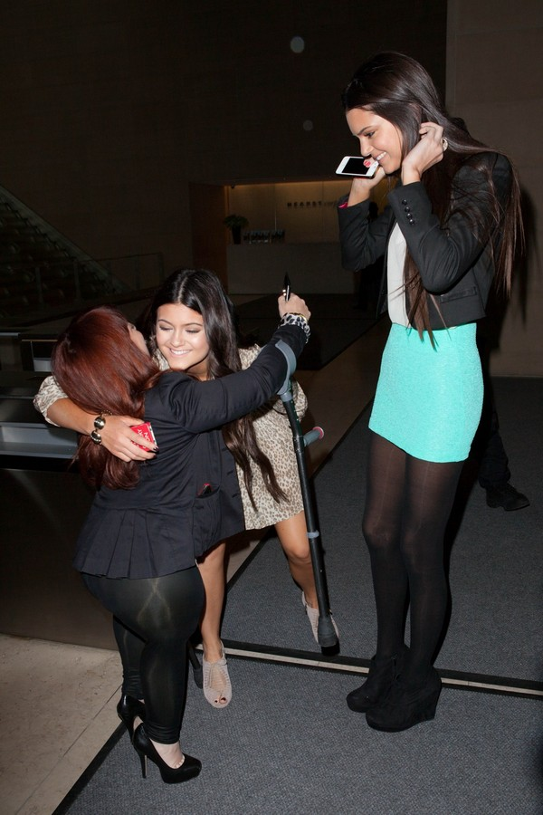 Kendall Jenner at a Meeting in NY - 23rd April, 2012