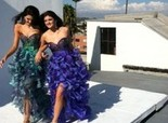 Kendall Jenner Prom Photo Shoot By Sherri Hill 2012
