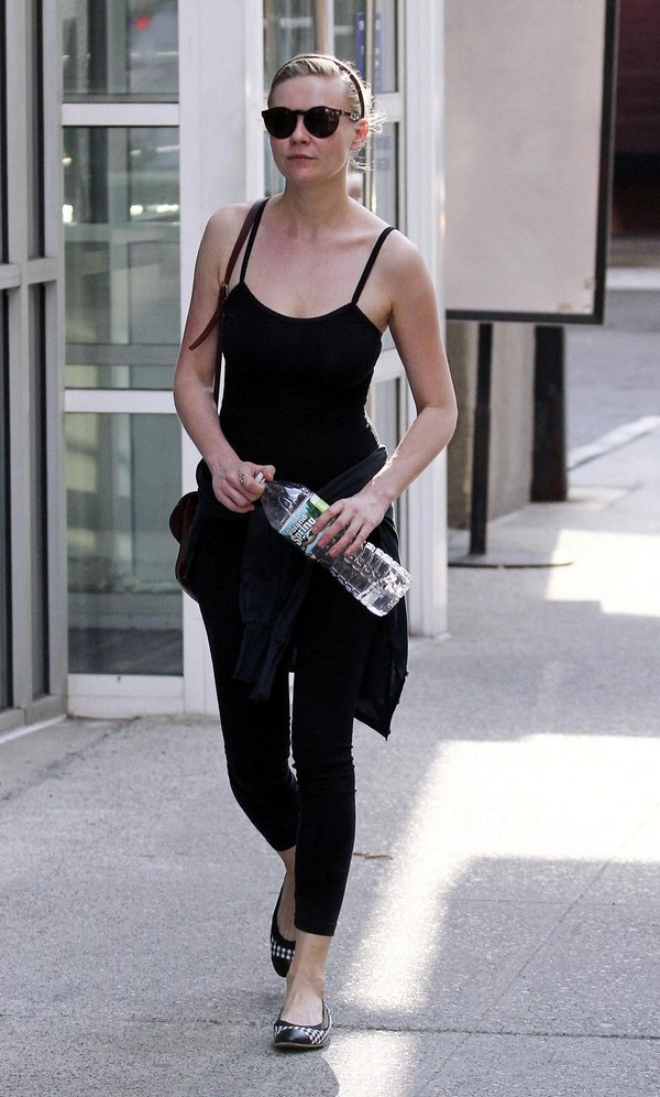 Kirsten Dunst - leaving a gym in New York - July 15, 2011