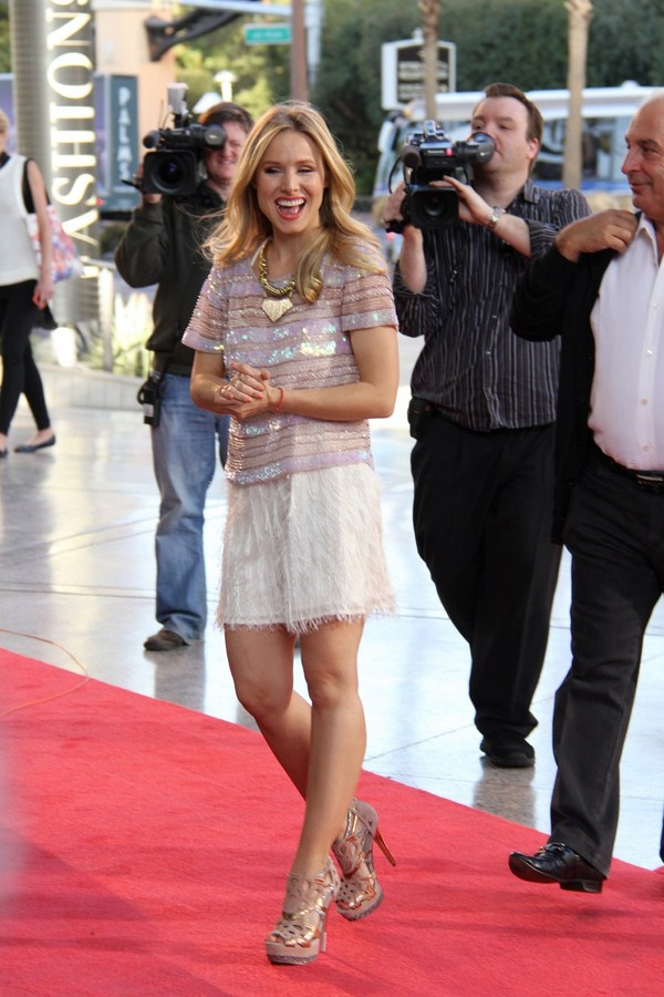 Kristen Bell - Topshop Topman Store Opening in Las Vegas - 8th March, 2012