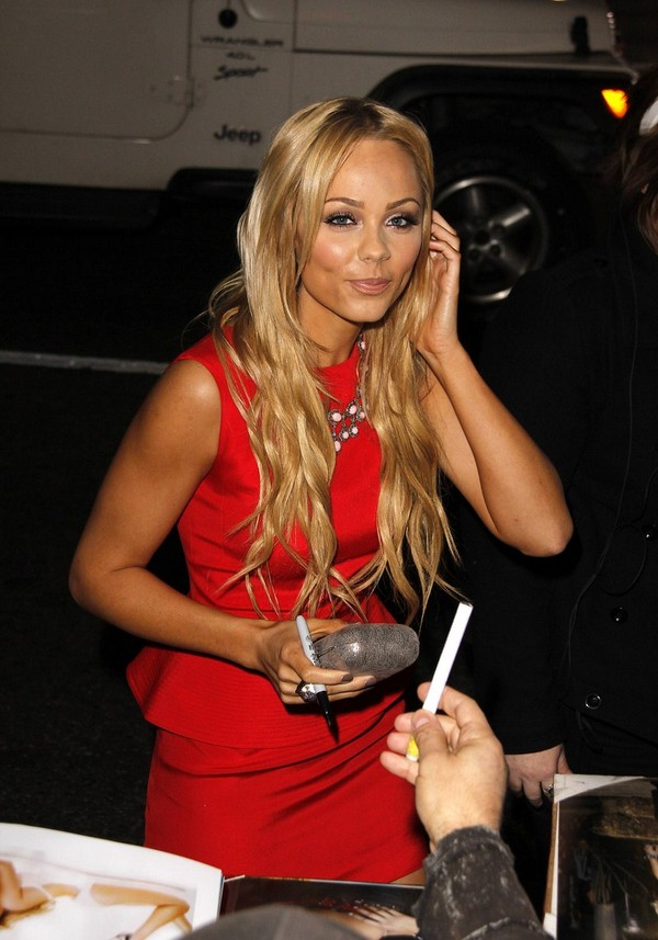 Laura Vandervoort - This Means War premiere in Hollywood - 8th February, 2012